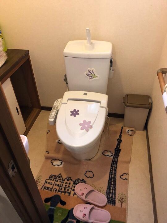 トイレ改修工事!
