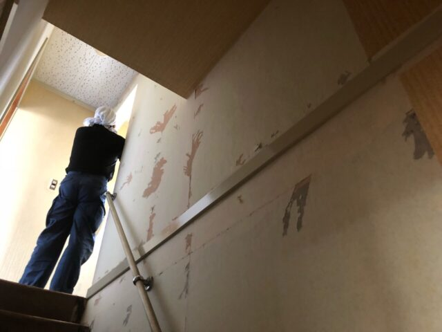 外壁スレート板補修⑦