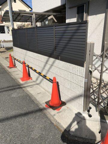 台風被害 復旧工事