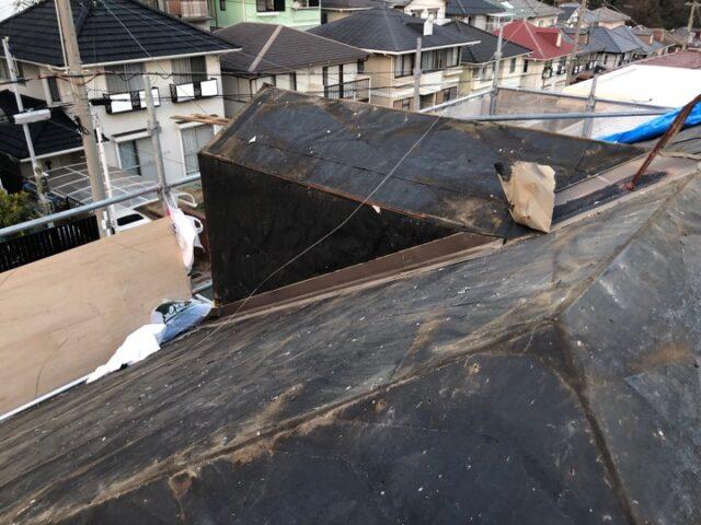 台風被害補修工事!