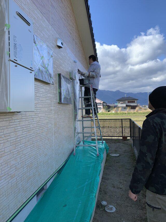外壁塗装。