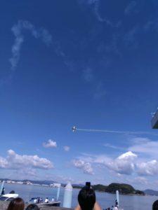 アクロバット飛行✈